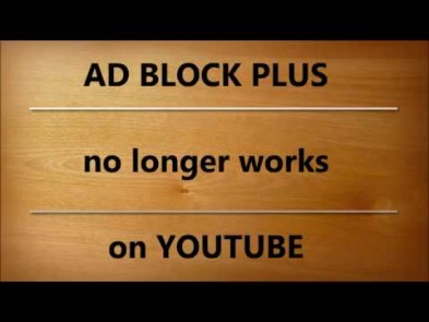 why is adblock not working